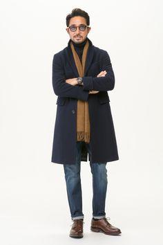 さらに、みなさんを喜ばせたい! その心意気で 実は超・最強スーツ Zに合う超絶コートも作ったんだゼーット! 干場流コーディネートも大紹介です。sponsored by UNIVERSAL LANG…