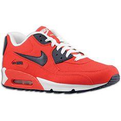 Nike Air Max 90 – Action Red / Obsidian   KicksOnFire