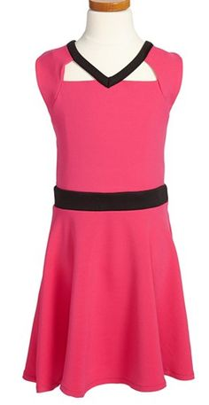 Love this Chloe from dance moms wore this Sally Miller dress for the Teen Choice awards!