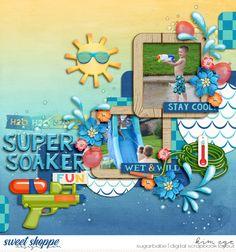 H2O digital scrapboo