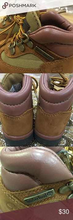 INFANT TIMBERLANDS BOOTS SIZE 4.5 Infant Timberlands size 4.5, condition good as new.  Smoke and pet free home. Timberland Shoes Boots
