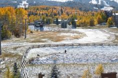 Viceroy Snowmass View in the Fall. Weddings at Viceroy Snowmass in Snowmass Village, Colorado.