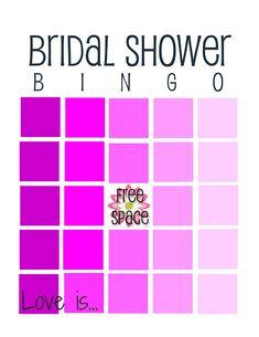 12 Free Bridal Shower Bingo Template | visit www.freetemplateideas.com