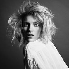 """1,171 Likes, 10 Comments - Inezandvinoodh (@inezandvinoodh) on Instagram: """"What a joy to see the career and activism of the brilliant @anja_rubik here in our portrait for…"""""""