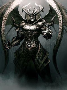 by Kyoung Hwan Kim Fantasy Warrior, Fantasy Demon, Fantasy Monster, Monster Art, Dark Fantasy Art, Dark Art, Ange Demon, Demon Art, Deadly Creatures