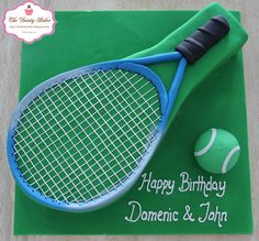 Tennis Cake by the dainty baker