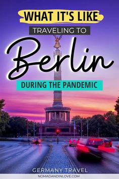 Planning to visit Berlin and traveling during the pandemic? Expats share their personal account and traveling tips for traveling during pandemic in Berlin. Berlin is considered one of the safe places to travel to during the pandemic. See photos of the best places to visit in Berlin and what it's like now. Get a list of travel tips and travel essentials during pandemic and find out how you can travel safely and responsibly in 2020. | #europetravel #beautifulplaces | > via @nomadandinlove Europe Travel Guide, Traveling Tips, Travel Guides, Berlin Travel, Germany Travel, Safest Places To Travel, Germany Photography, Berlin Berlin, Germany Castles