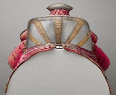 Saddle, ca. 1570–80 - Italian (Milan) - Wood, textiles, iron, leather, steel, and gold