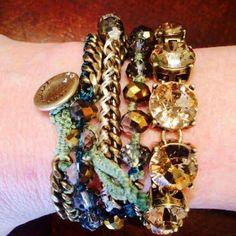 Bracelet love. #jewelry #fashion #bracelets #chloeandisabel www.chloeandisabel.com/boutique/anitabeganovic