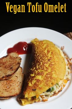YUMMY TUMMY: Vegan Tofu Omelette Recipe - Omelet without Eggs