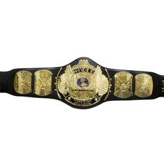 The classic World Wrestling Federation Winged Eagle Championship Title Belt... It's awesome!