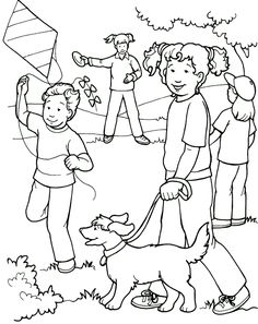 Love Each Other - Coloring Page