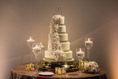 Bridal Bliss: NBA Star Trey Burke And His High School Sweetheart De'Monique's Romantic Wedding For The Win Trey Burke, Nba Stars, High School Sweethearts, October Wedding, Bliss, Wedding Cakes, Romantic, Candles, Weddings