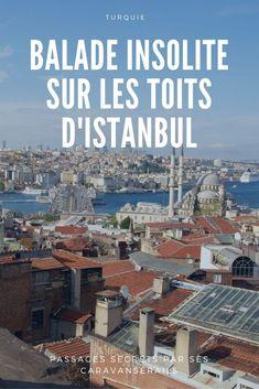 Une vue panoramique sur Istanbul en dehors des sentiers battus à deux pas du Grand Bazar. Itinéraire et indications pour s'y rendre. #istanbul #turquie #turkey