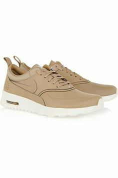 new product e0c4b 344b7 Nike   Nike Air Pegasus 83 Beige Leather Trainers at ASOS
