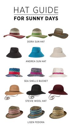 Pick your stylish summer hat to keep cool all summer ad56da6083e0