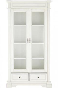 bufford glass door bookcase