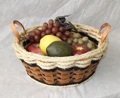 Shabby Chic Collection-- Fruit Basket