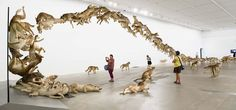 Cai Guo-Qiang: Falling Back to Earth Cagle-Roberts Gallery of Modern Art QLD Gallery Of Modern Art, Art Gallery, Cai Guo Qiang, Fall Back, World Images, Wow Products, Installation Art, Sculpture Art, Art Photography