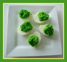 Dr Seuss Green Eggs Snack Recipe from Kiboomu