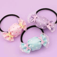 Tulle Pastel Candy Hairband You are in the right place about DIY Hair Accessories natural Here we of Diy Hair Accessories Ribbon, Baby Girl Hair Accessories, Diy Hair Bows, Diy Bow, Organizing Hair Accessories, Hairband, Tulle Headband, Head Wrap Headband, Headband Hair