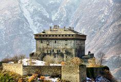 Aosta castello di verres