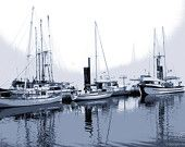 Vancouver Island Harbor A Fine Art Photo Print