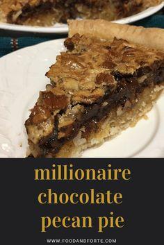 Millionaire Chocolate Pecan Pie, cover