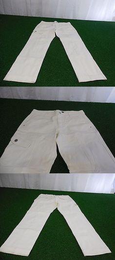 Pants 181148: New Womens Ralph Lauren Golf Pants (White) Size 6 Ralph Lauren -> BUY IT NOW ONLY: $49.99 on eBay!