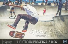 100 Sports Effect Lightroom Presets by Symufa on Etsy