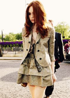 The skirt... and the blazer! I love this outfit!
