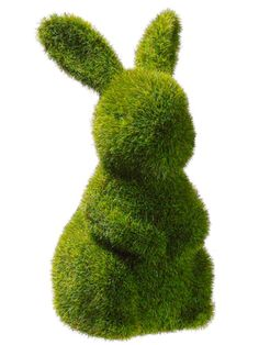 Look what I found on Moss Bunny Statuary by Allstate Floral & Craft Close Joseph super cute Artificial Flowers And Plants, Artificial Tree, Happy Spring, Spring Time, Easter Bunny, Easter Food, Easter Decor, Easter Ideas, Easter Crafts