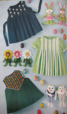 VIntage McCall's Needlework Magazine -- just as adorable today!