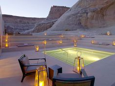 Absolutely one with the earth...    Canyon Point, UT  amanresorts.com