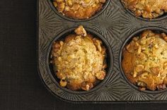 Pear Ginger Walnut Muffins Recipe on Food52 recipe on Food52