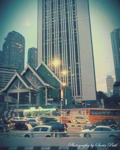 #Malaysiya #Citytour #lights #traffic #selamatDatang