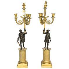 Pair of Empire Period Candelabra 18000