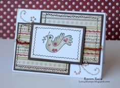 Made By Raven  From Alota Rubber Stamps!