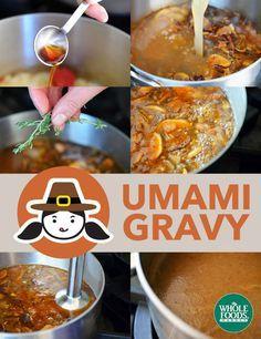 Nomtastic Paleo Thanksgiving: Umami Gravy Video by Michelle Tam http://nomnompaleo.com