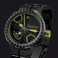 Crossline GREEN Breitling, Deep Blue, Green, Accessories, Wrist Watches, Jewelry Accessories
