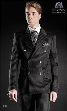 Traje de novio negro 891 ONGala Wedding suit