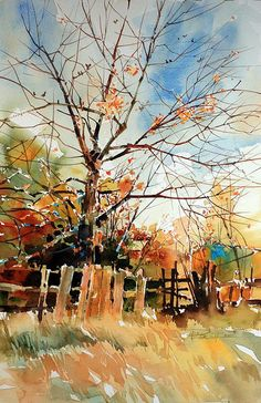 Autumn Breeze | by purcell art
