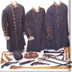 Confederate Frock Coats