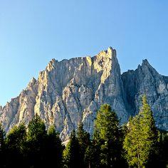 Trekking, hiking, and walking the Dolomites.