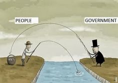 Satire Humor - What ever the people earn the government just takes from them Pictures With Deep Meaning, Satirical Illustrations, Meaningful Pictures, Frases Humor, Satire Humor, Humor Grafico, Man Vs, Reality Quotes, Political Cartoons