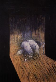 MAN KNEELING IN GRASS - FRANCIS BACON - 1952 | by litaniemarie