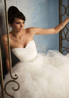 Blu by Mori Lee 5172 Tulle Wedding Dress