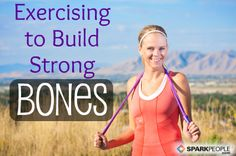 Find out which types of workouts are the best for strengthening bones and preventing osteoporosis. | via @SparkPeople #fitness #exercise #health