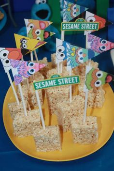 Sesame Street Party Birthday Party Ideas | Photo 9 of 28 | Catch My Party
