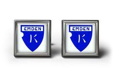 Kickers Emden Cufflinks Manschettenknöpfe #Cufflinks #Christmasgift #footballleague
